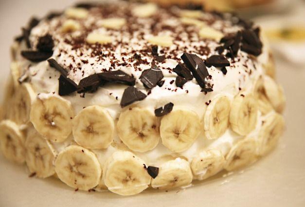 "Diaporama ""Le tiramisu et 9 autres desserts à préparer quand on n'a pas de four"" - Banoffee Pie"
