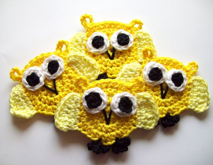 Owl+crocheted+from+♥.·:*¨¨*:·.♥+Blumenland+Designs+with+Love+♥.·:*¨¨*:·.♥+by+DaWanda.com