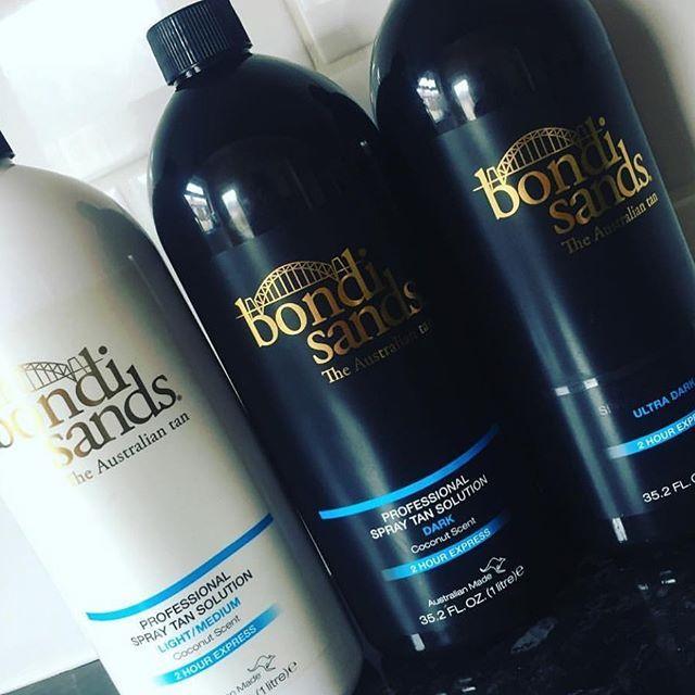 Bondi Sands Will Be Available Spray Tan In Salon Including Ultra Dark When Im Back From My Back As Of Mon 17th Jun Spray Tanning Spray Tan Solution Bondi Sands