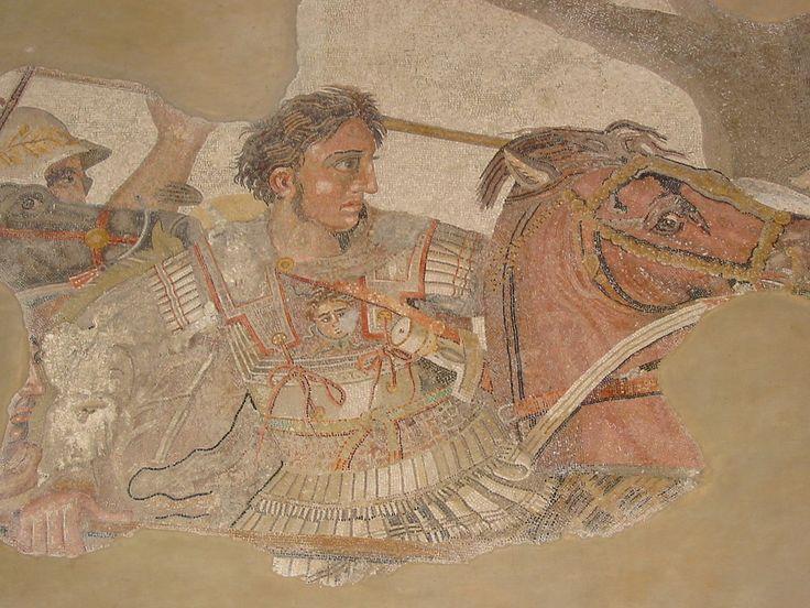 Alexander close up - Alexander Mosaic - Wikipedia