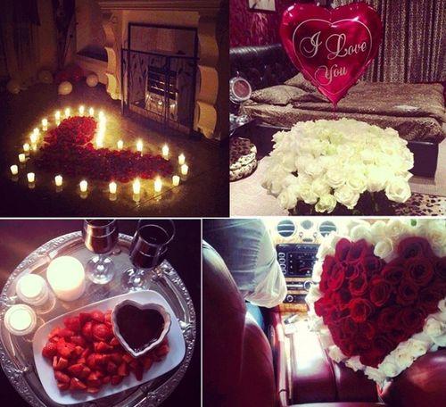 37 best Valentines Day: DIY Room Decor, Yummies and Romance Ideas ...