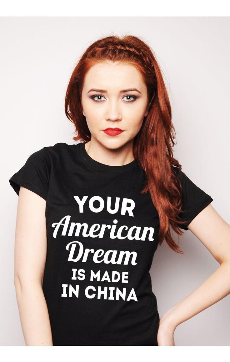 Nice, huh?  http://ruvix.ro/produs/tricou-american-dream/