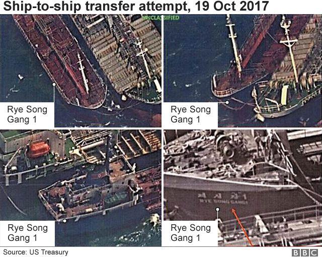 Corée du Nord: Le sud s'empare d'un navire en plein transfert illégal de pétrole