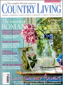 Whether you live in the town or countryside, in Country Living magazine you'll find a wealth of ideas for your home and garden, learn about traditional crafts, keep informed of rural issues, enjoy irresistible dishes using seasonal produce and, above all, escape the stress and strain of modern-day life.