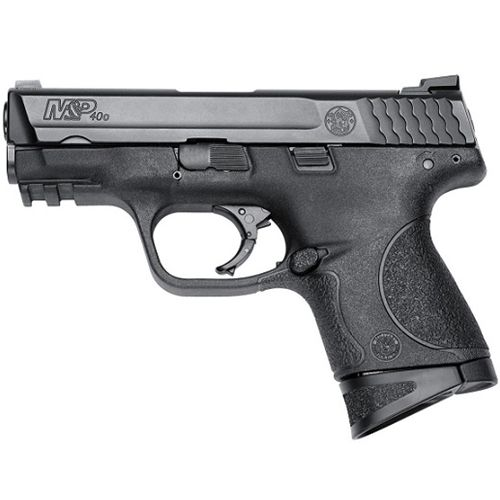 "$398.20 + REBATE!  S&W M&P Shield 40 S&W Semi-Auto Ammo 3.1"" Brl 6 & 7 Rds Blk"