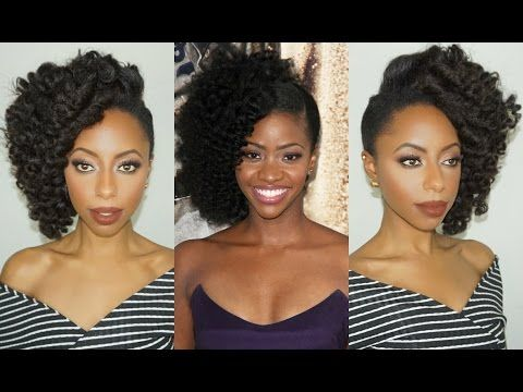 The Best Teyonah Parris Natural Hair Tutorials Inspired by Red Carpet Looks