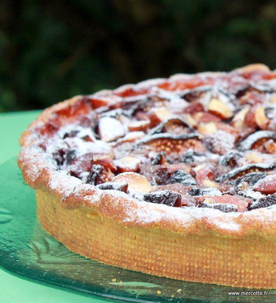 » Tarte folle aux figues et au praliné de Thierry Mulhaupt - La cuisine de Mercotte :: Macarons, Verrines, … et chocolat