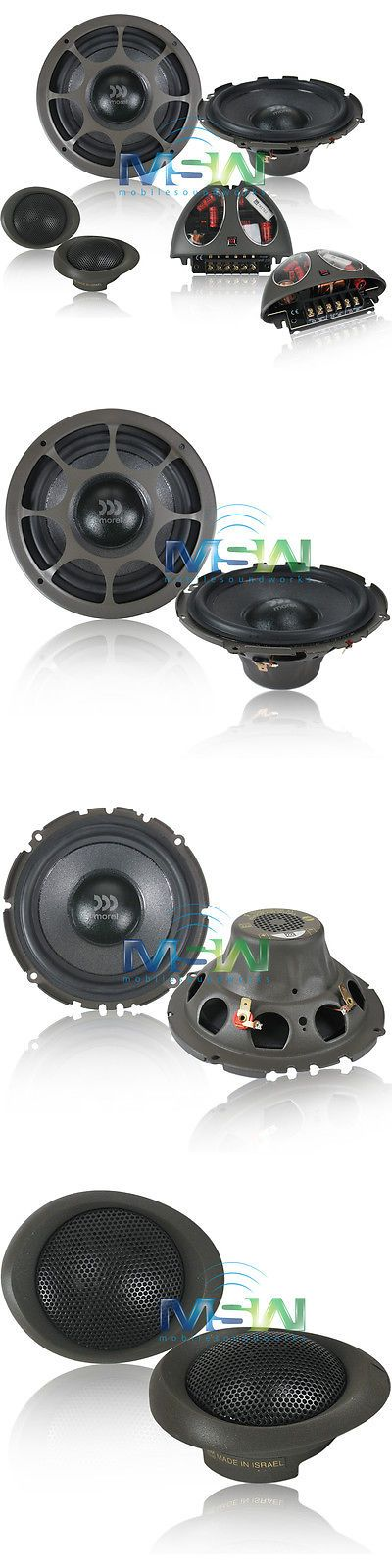 Car Speakers and Speaker Systems: Authentic Morel® Virtus 602 6-1 2 2-Way Car Component Speaker System 6.5 *New* -> BUY IT NOW ONLY: $549 on eBay!