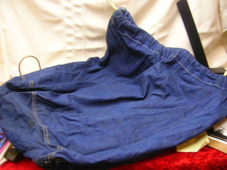 Vintage WWII Demin Laundry Bag