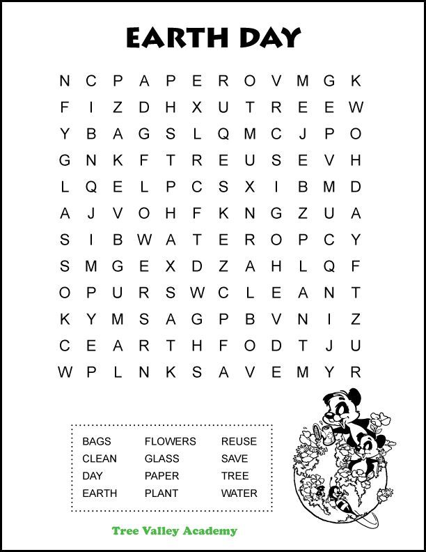 Easy Earth Day Word Search In 2020 Writing Words Lettering Writing