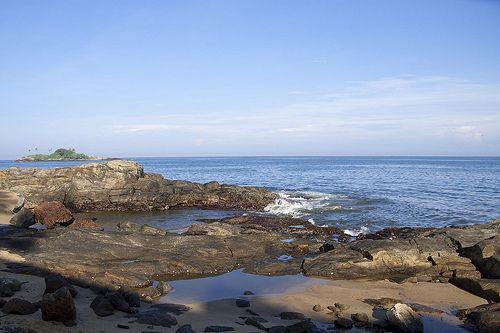 Beruwala sea shore, Sri Lanka