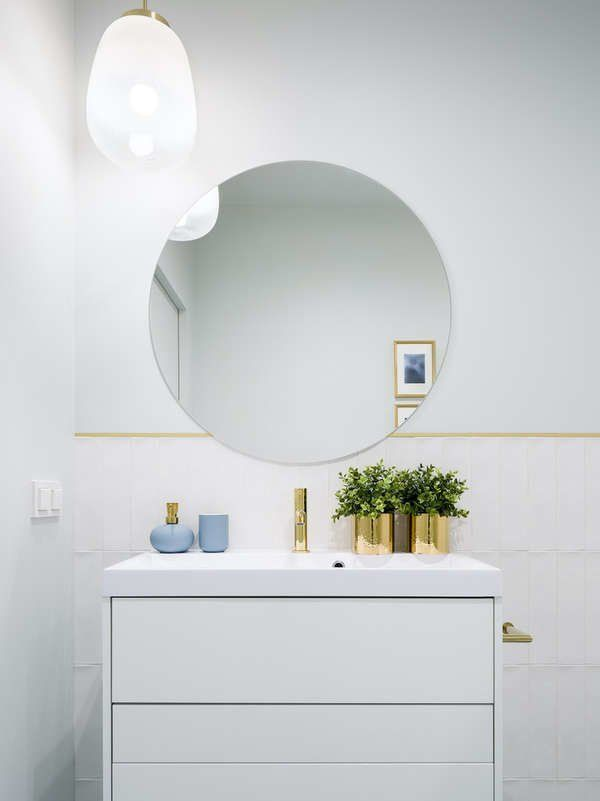 7 Pro Tips For Brightening Your Bathroom Windowless Bathroom Best Bathroom Designs Brighten Bathroom