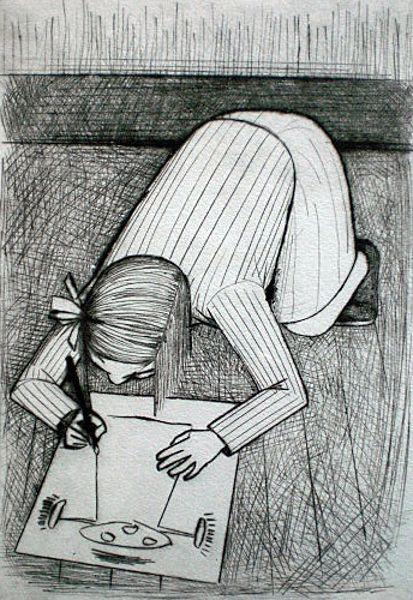 John Brack ~ First Daughter, 1954