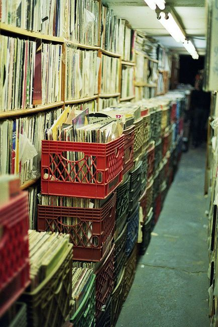 Paradise.I wish I had that much vinyl provided its all in decent condition of music I love. Only problem life is too short to hear it all once.