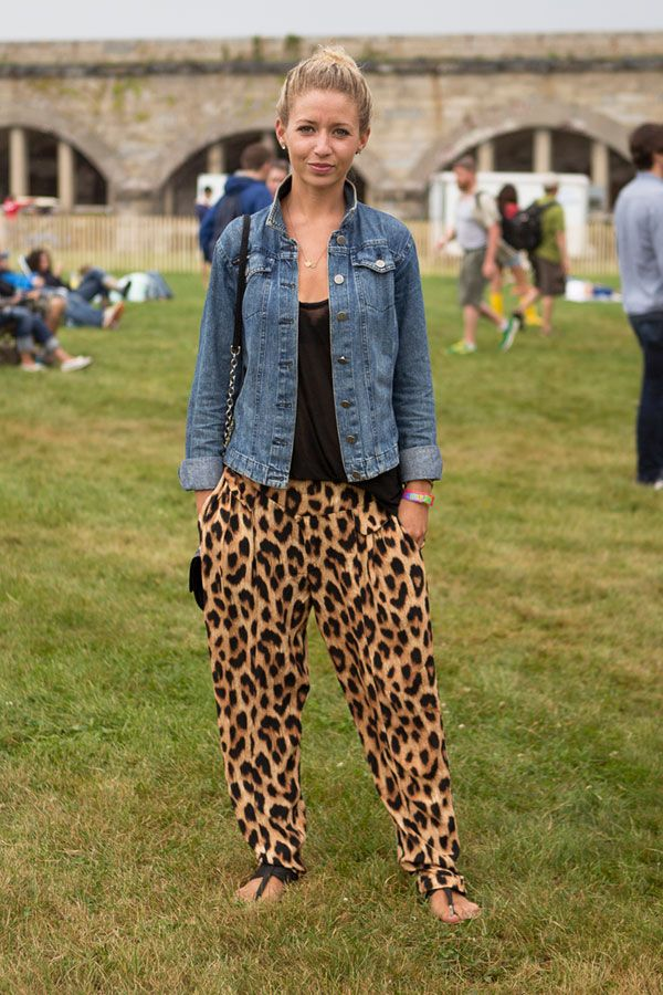Leopard Pants...maybe if they were skinnier...the print is cool either way