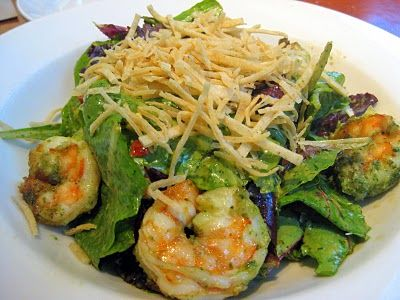 Zesty Cilantro Lime Shrimp Salad copycat from Nordstrom Cafe