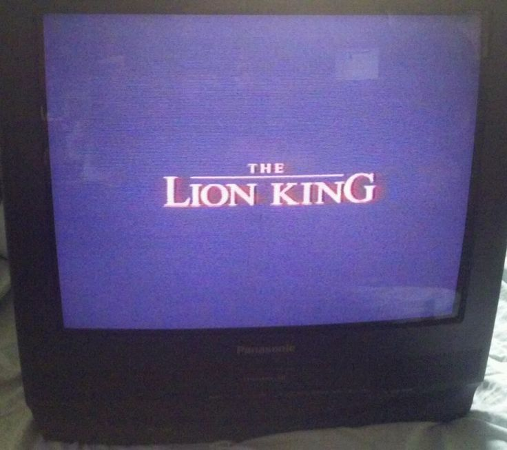 "Panasonic 20"" CRT TV VCR Combo Unit Black PV-C2010A VHS Player No Remote #PanasonicPV-C2010ATVVCRCombo #TVVCRCombination"