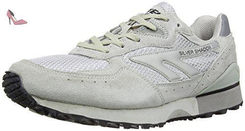 Hi-Tec Silver Shadow Ii, Chaussures Multisport Outdoor mixte adulte, Gris (Silver/grey), 48 EU - Chaussures hi tec (*Partner-Link)