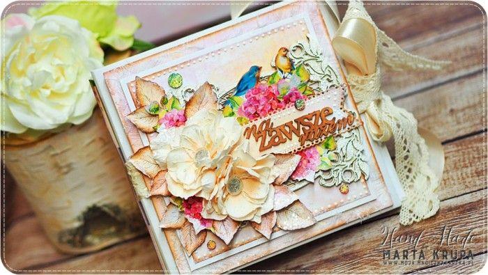 Romantyczny album ślubny