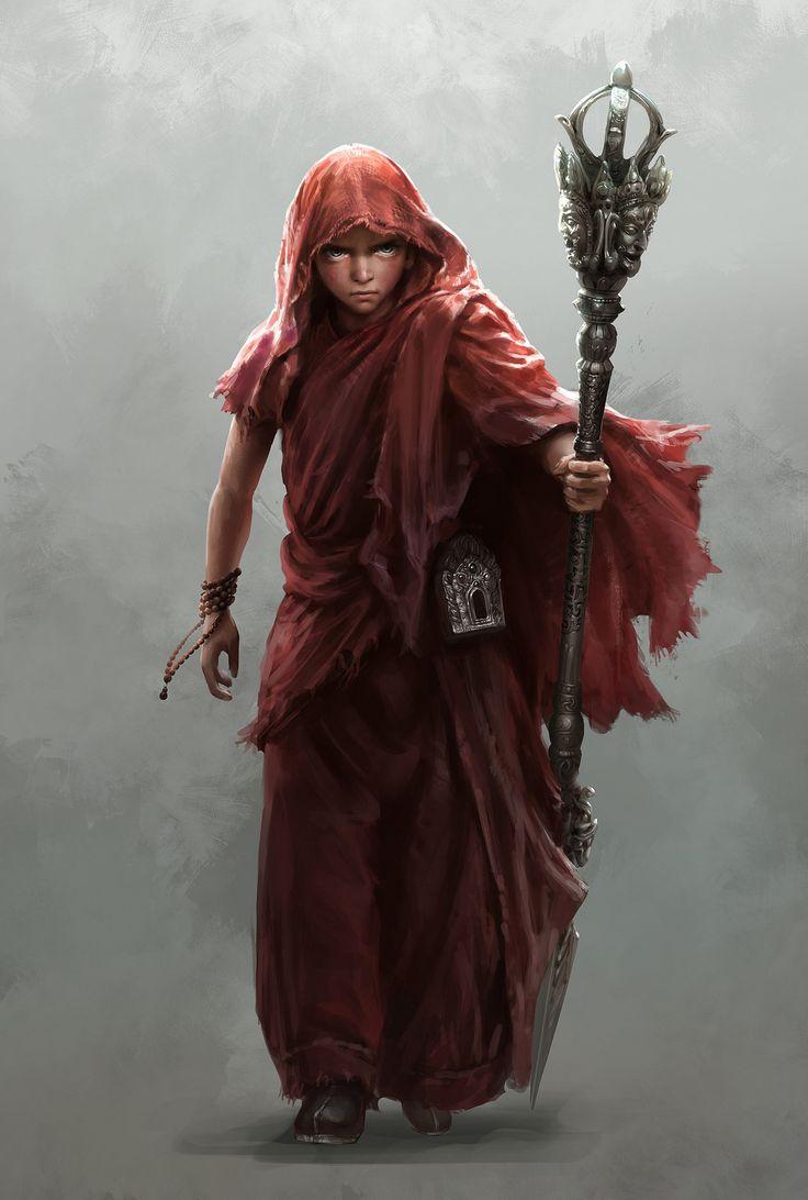 Alto sacerdote de Lucci (Deus do fogo, da forja e criador dos seres-humanos, dos halflings e dos anões)