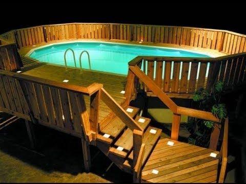 Bury an above ground pool part #2.wmv - YouTube