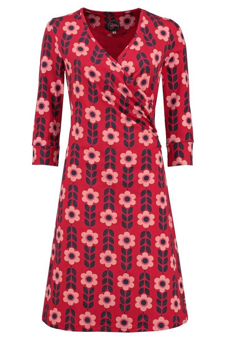Dress Mila Cornflower Red