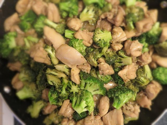 Whole 30 Fort Lauderdale: Chicken and Broccoli. This will fix that Chinese Take Out craving that will hit around day 10 during your Whole30!