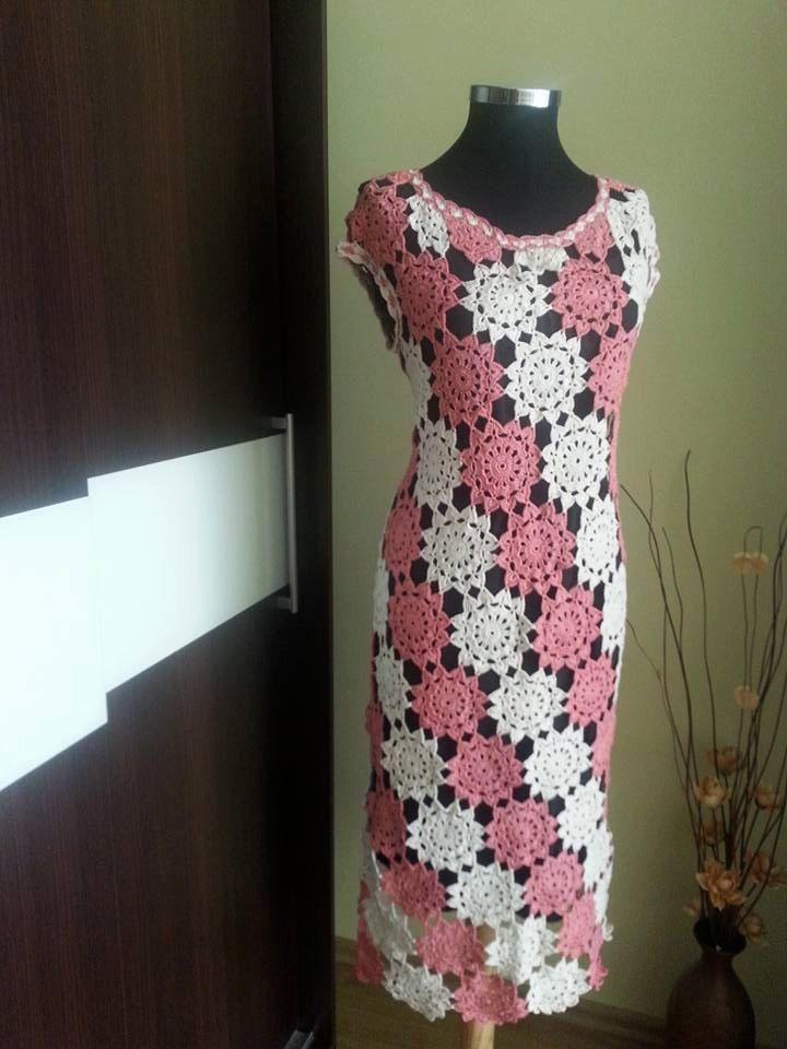 Handmade crochet dress/lace crochet/irish crochet/sexy dress/flowers crohet/summer dress/unique dress/cotton dress/ by AmelyCrochet on Etsy