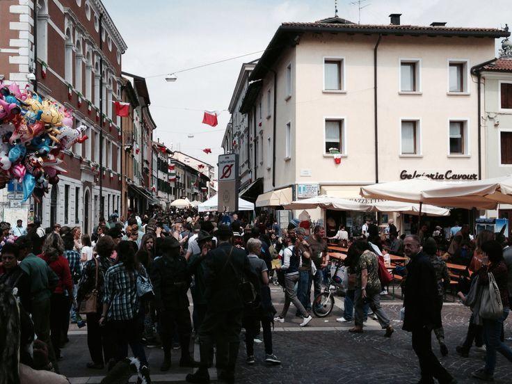Pordenone patria degli #Alpini 2014