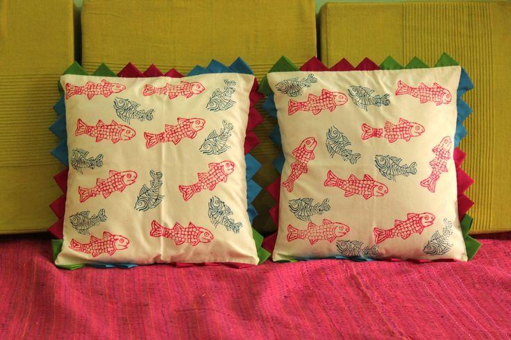Fish Cushion Covers