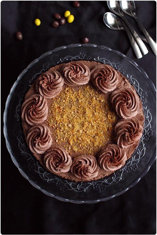 Gâteau Chocolat, Dulce de Leche & M&M's...♡