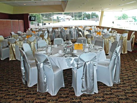 Shop Silver Satin Sash For Wedding Chair Covers At Rental Or Purchase Create Ultimate Impression On Guests