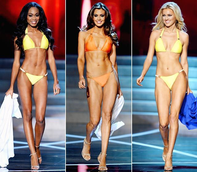 Miss USA 2013 contestants flaunt their fit bikini bodies | Planet Hollywood Resort & Casino in Las Vegas