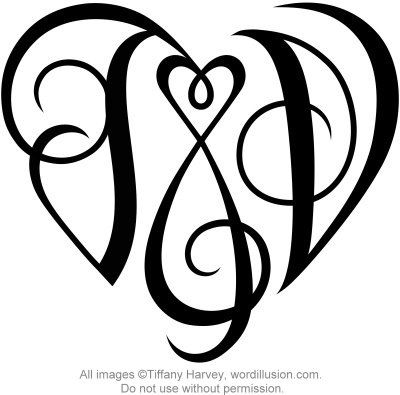 j v heart design discover more best ideas about initials tattoo ideas and design. Black Bedroom Furniture Sets. Home Design Ideas
