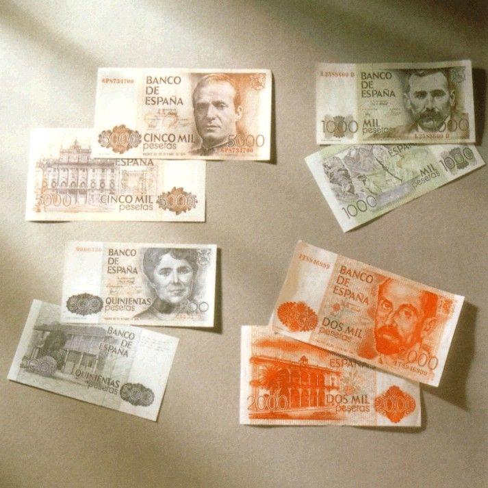 Billetes del Banco de España 0