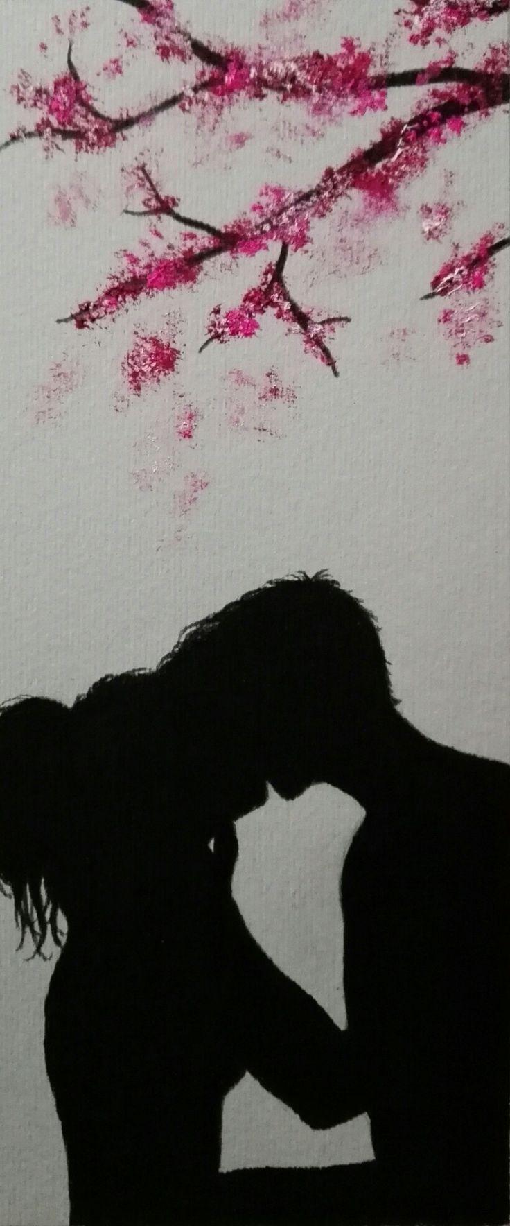 Bookmark / sakura / love Art by MaryAlice
