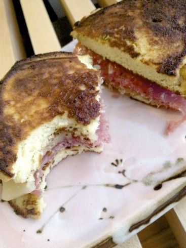 Fancy Grilled Cheese on Coconut Flour Flatbread – Gluten Free! by LISA on FEBRUARY 23, 2012  14 1.33k 26.6k  Side story:  When I was in coll...