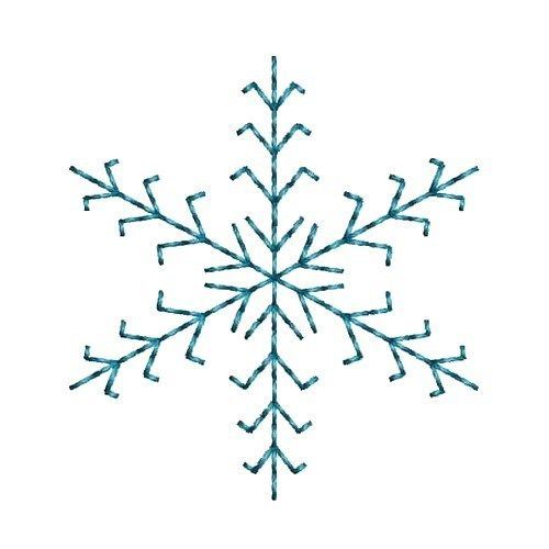 Fancy Snowflake embroidery design from embroiderydesigns.com