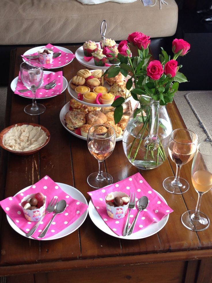 My little High Tea spread for some friends - June 2013