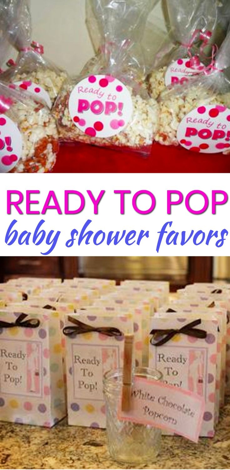 Baby Shower Favor Ideas! The best Ready To Pop baby shower favors! Amazing boys baby shower favors as well as the coolest girls baby shower favors. Find gender neutral ideas for your guests at your Ready To Pop theme baby shower. From DIY ideas to candles to soap to lotion to candy that are cheap, unique and classy. Find the best baby shower favor ideas now!
