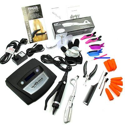 COLD FUSION ALL-IN-ONE LED ULTRASONIC MACHINE KIT FOR PRE-BONDED HAIR EXTENSION