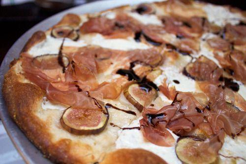 Prosciutto and Fig Pizza: Fig Pizza, Prosciutto Pizza, Dinners, Figs Pizza, Cooking, Pizza À, Arugula Salad, Grilled Pizza, Delicious Food