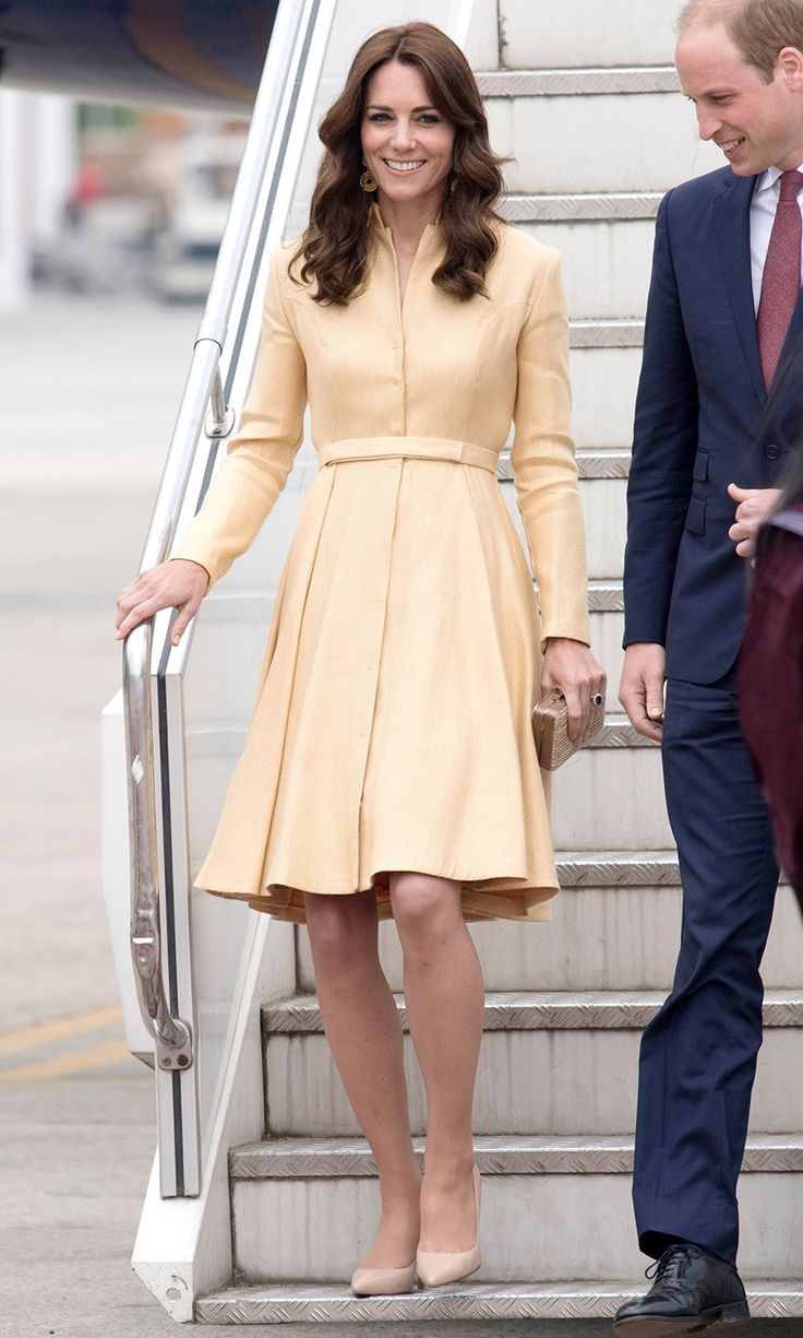 All of Kate Middleton's Looks on the 2016 India Tour