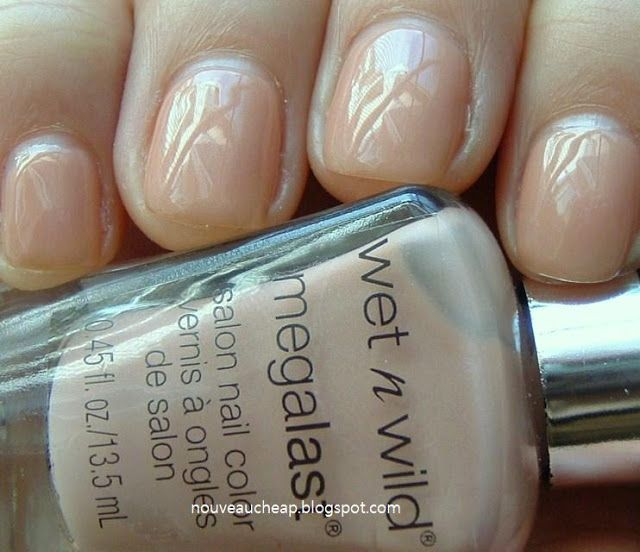 Review: New Wet n Wild Megalast Nail Color - Private Viewing