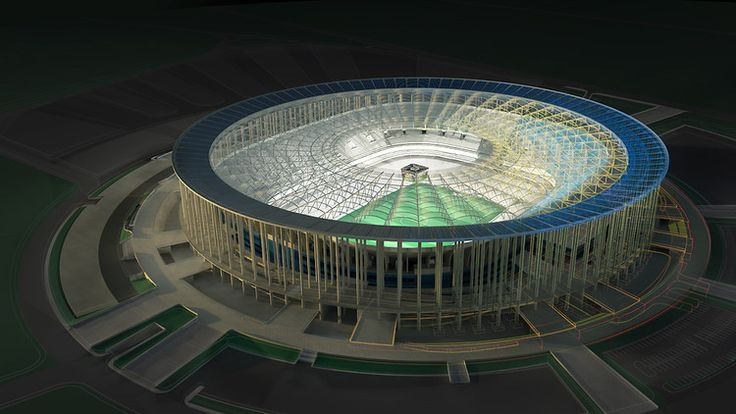 Brazil 2014 will not just be about the world's best soccer players. The first net-zero-energy, solar-powered, pollution-eating arena will be debut in  the next World Cup.
