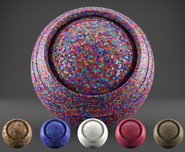 FREE 3D Cycles Tiles Shaders - 6 Different Tiles Shaders, High Quality Material For Blender Cycles Renderer - PACK 1 Reg: US$15 - Today FREE