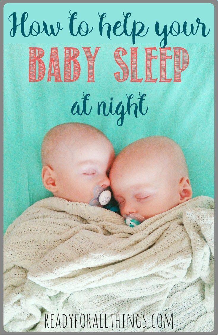 how to help your newborn baby sleep through the night | | baby sleep