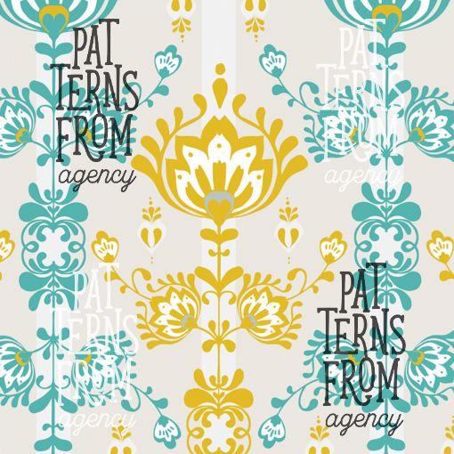 Granny's Attic – Blanket by Noora Hattunen #patternsfromagency #patternsfromfinland #pattern #patterndesign #surfacedesign #printdesign #noorahattunen