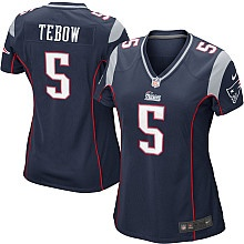Women's Nike New England Patriots Tim Tebow Game Team Color Jersey