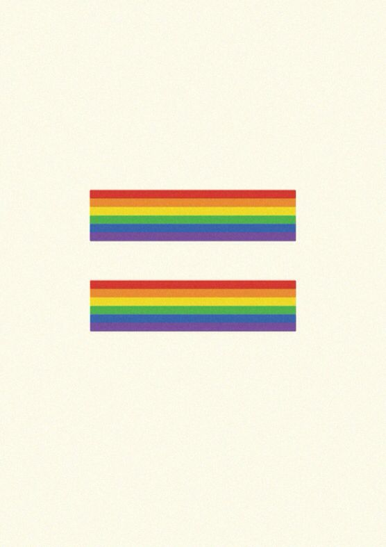 Equalities of the Rainbow by Gracelle Mesina. Available at www.society6.com/positiveposters